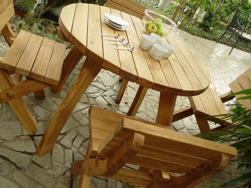 Handcrafted Patio Furniture Trend Home Design And Decor